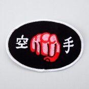 Blitz Sport Embroidered Badge - Karate Red Fist (A48)